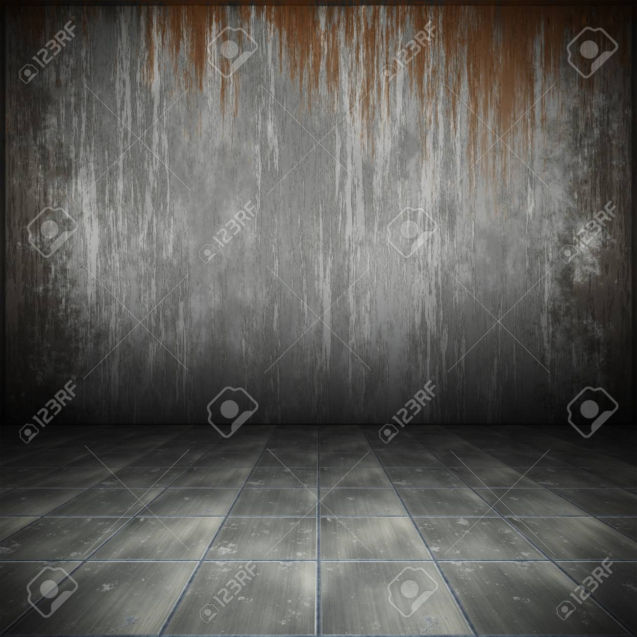 An image of a nice steel floor for your content Stock Photo - 8202172
