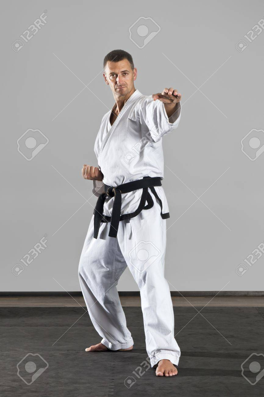 An image of a martial arts master Stock Photo - 10457977