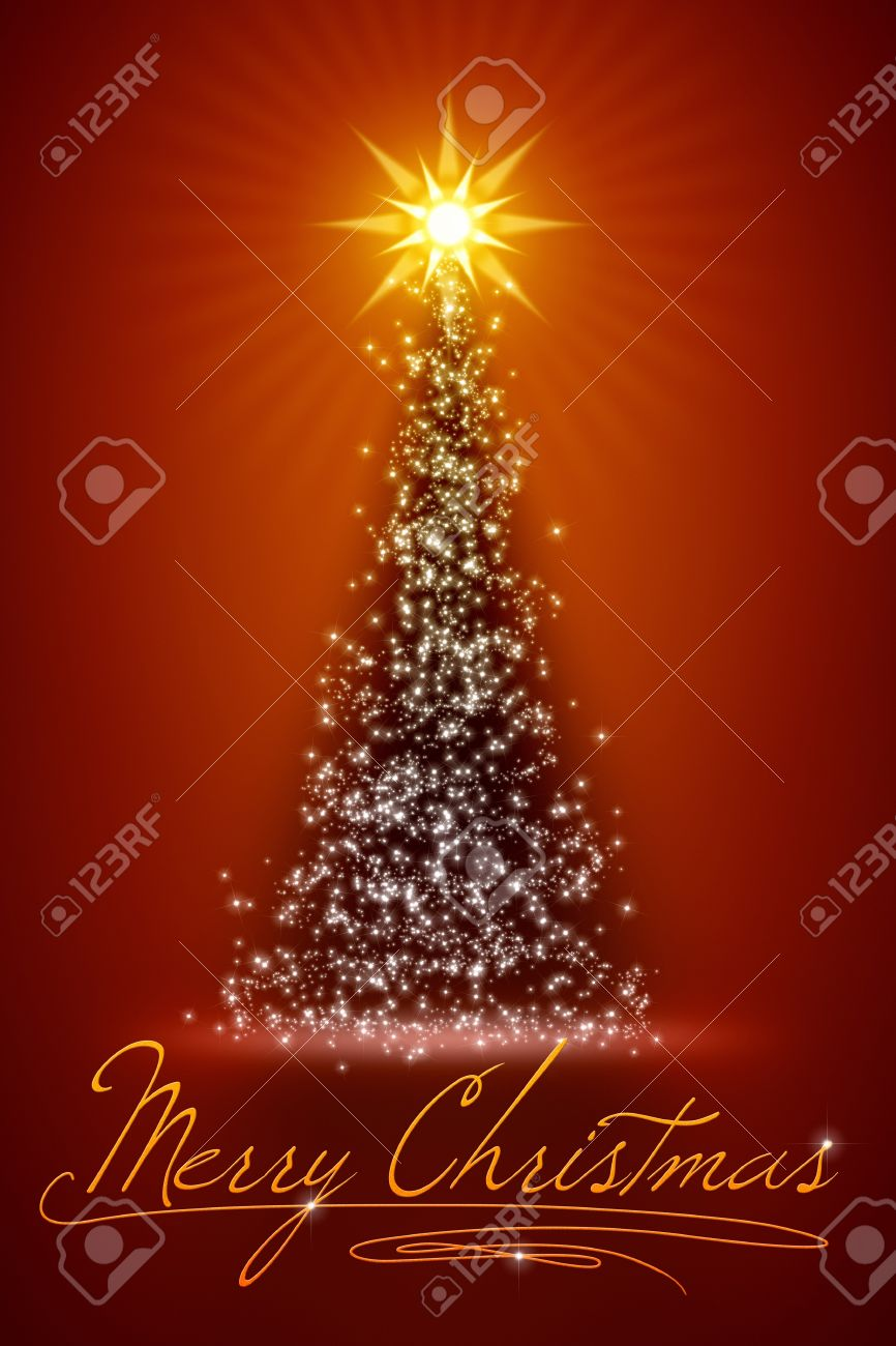 An Image Of A Nice Merry Christmas Background Stock Photo, Picture ...