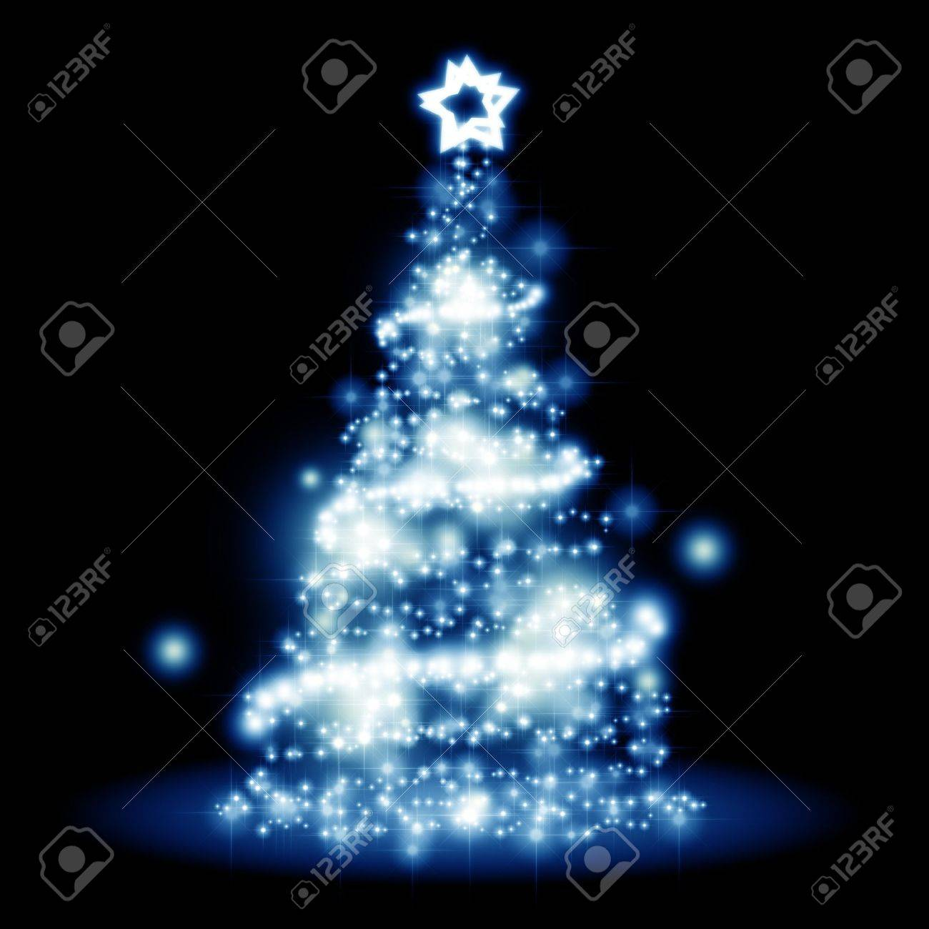 An image of a nice christmas tree lights background Stock Photo - 11088758
