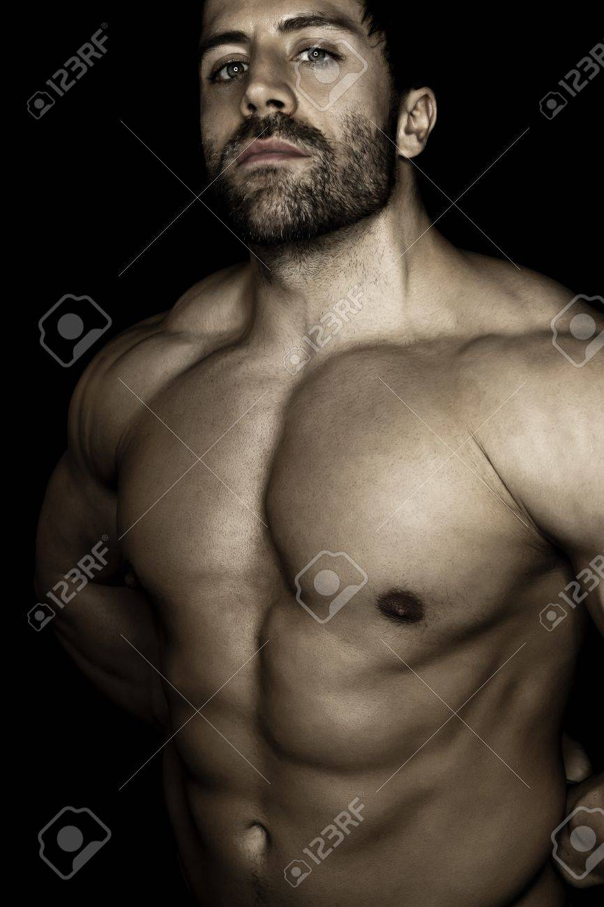 An image of a handsome young muscular sports man Stock Photo - 11740500
