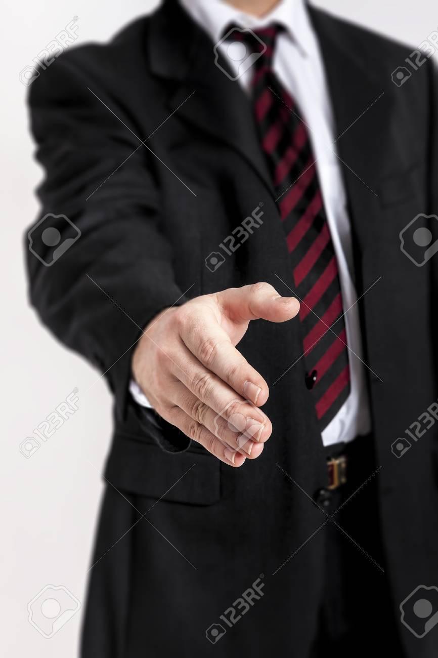 An image of a nice business handshake Stock Photo - 15276102