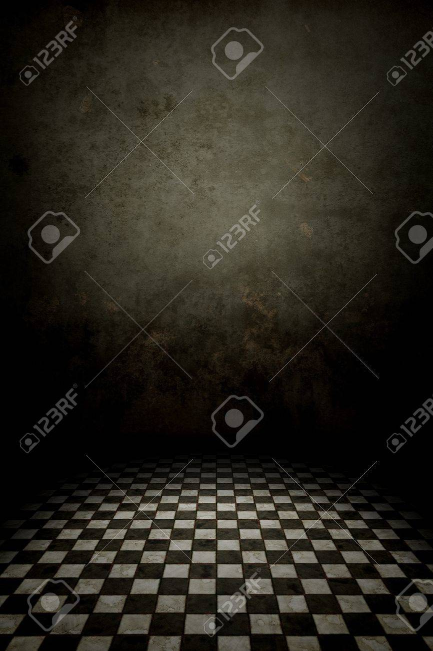 An image of a black and white tiles background Stock Photo - 15352912