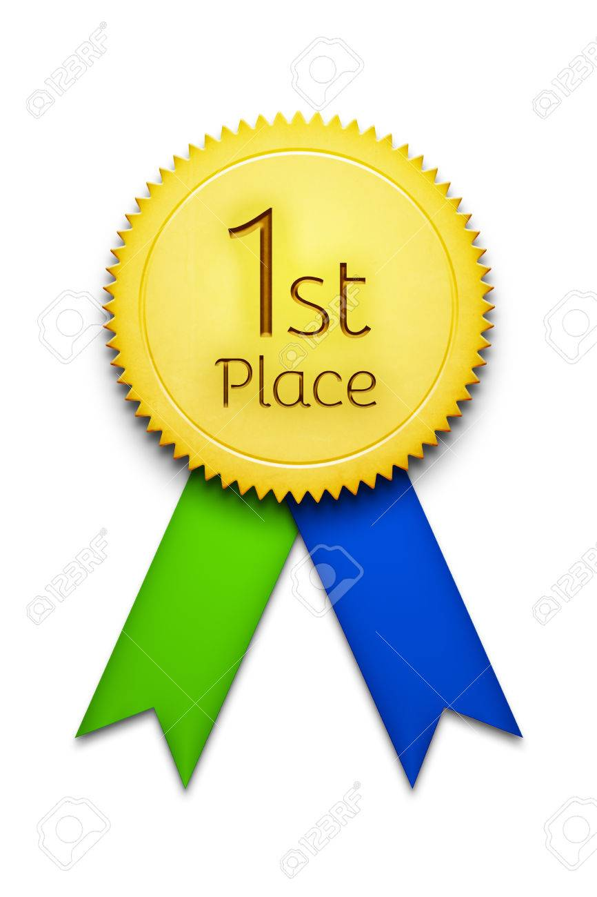 First Place Award Ribbon Image For Gallery