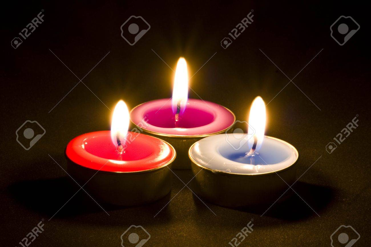 aroma candles Stock Photo - 7633119
