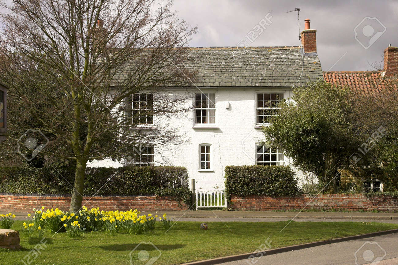 A house in an English village Stock Photo - 2815856