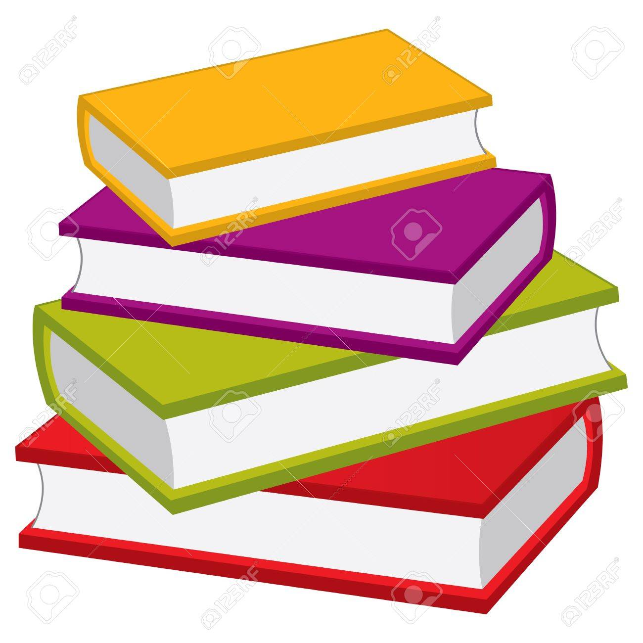 vector stack of books vector pile of books books vector rh 123rf com victor books location victor books location