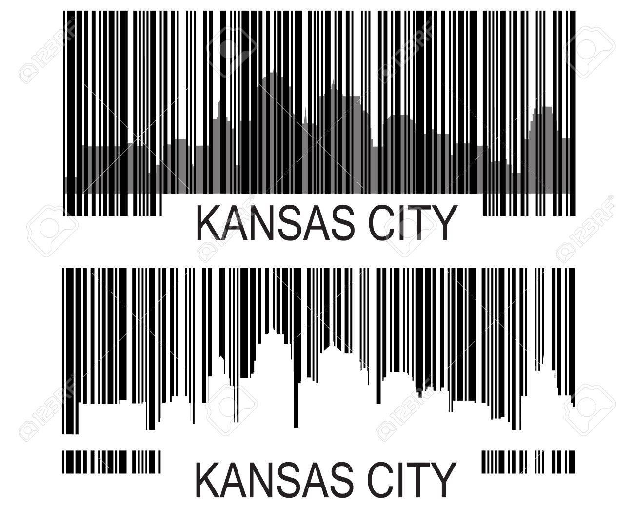 City of Kansas City high rise building  skyline Stock Vector - 11885302