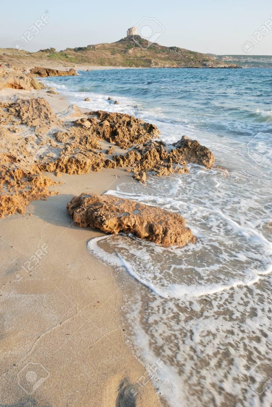 Sardinian beach called San Giovanni di Sinis Stock Photo - 12978087
