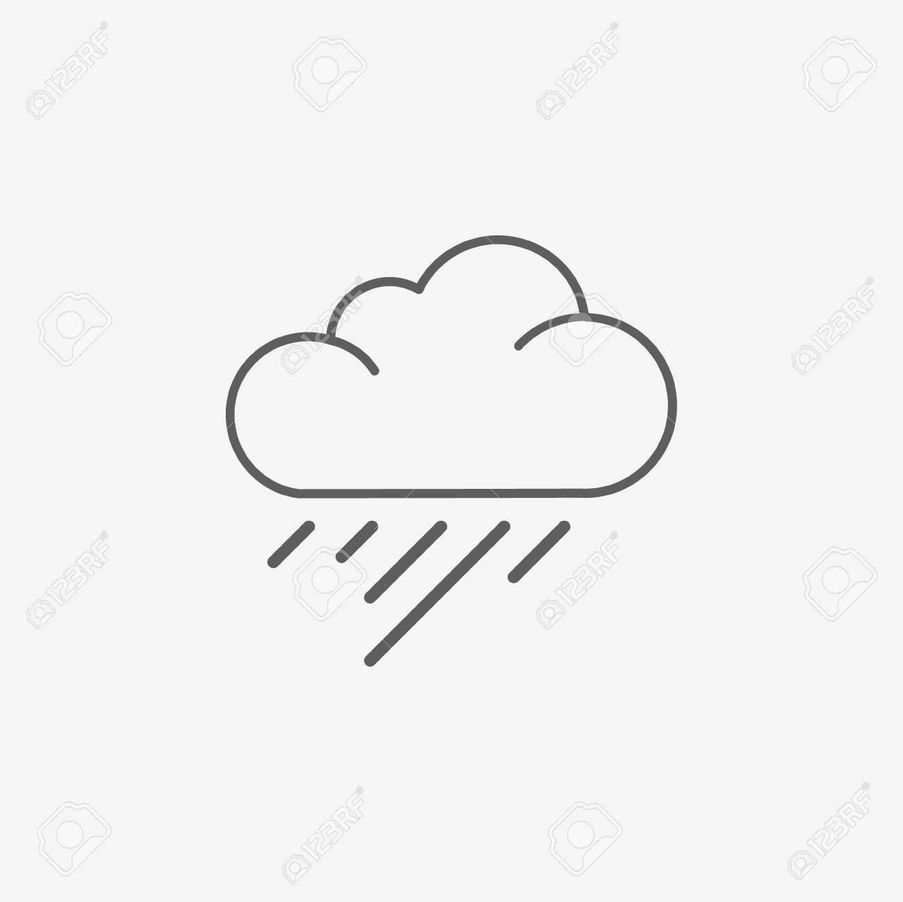 rain cloud cartoon illustration vector royalty free cliparts rh 123rf com cartoon rain cloud and sun cartoon rain cloud with lightning