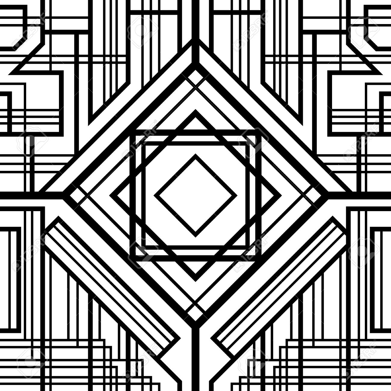 25  best ideas about Art deco pattern on Pinterest