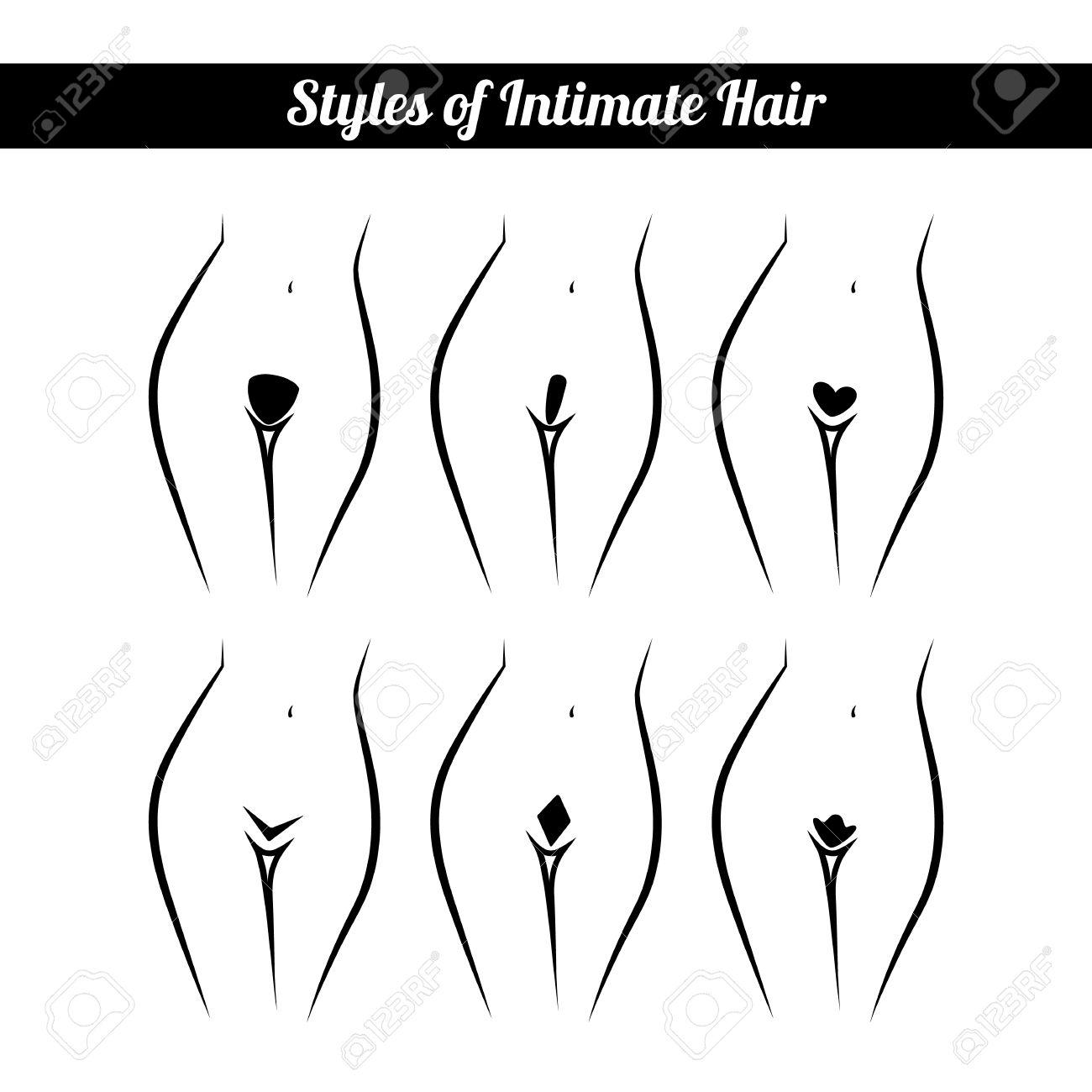 Hair removal for bikini