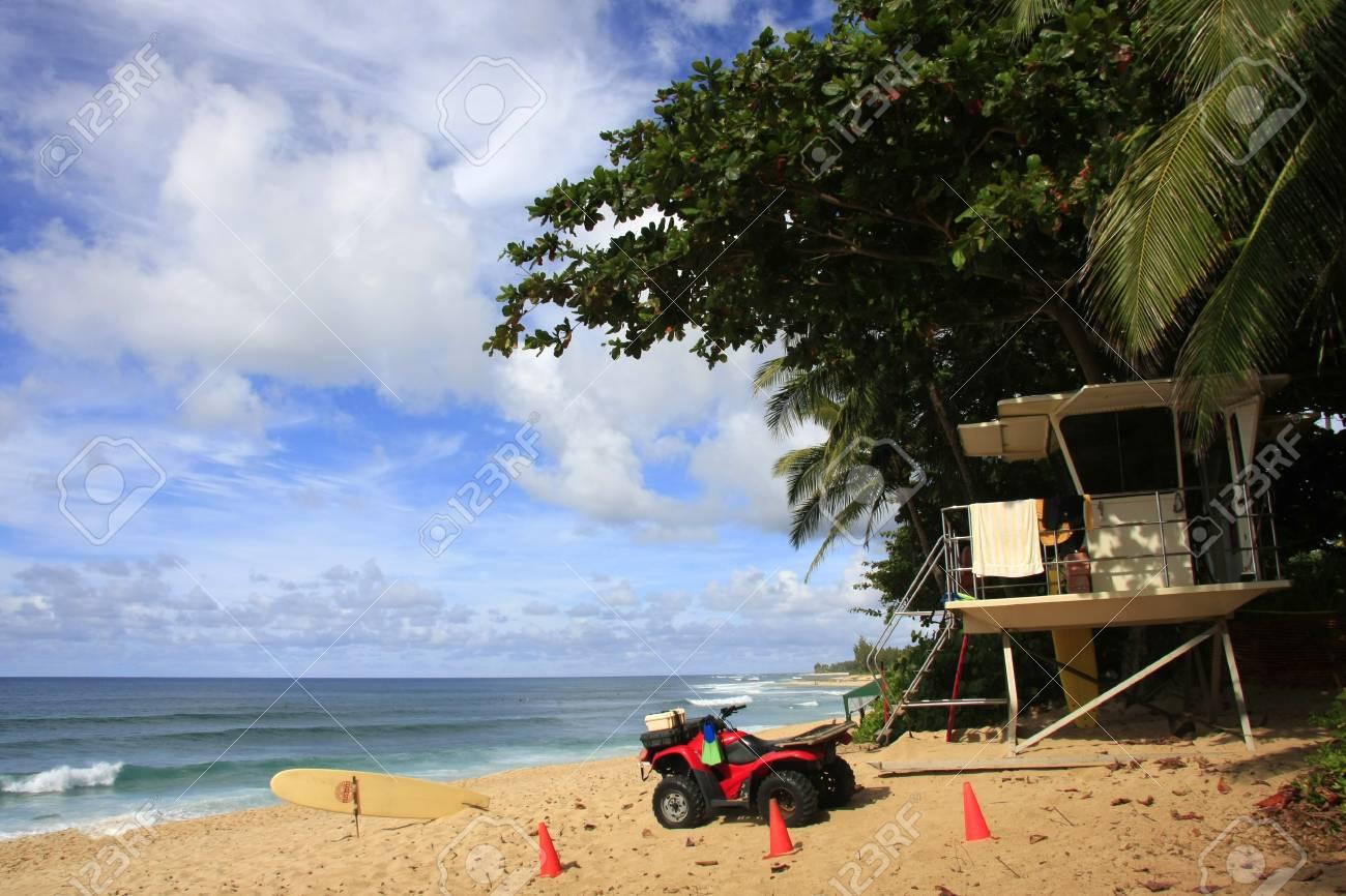 Lifeguard at the beach Stock Photo - 11672090