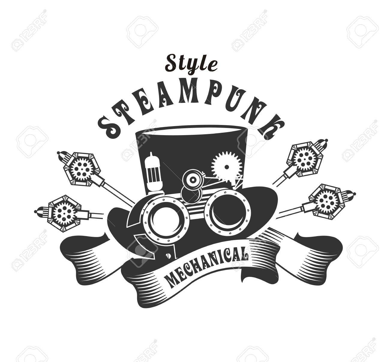 Steampunk Goggles Vector