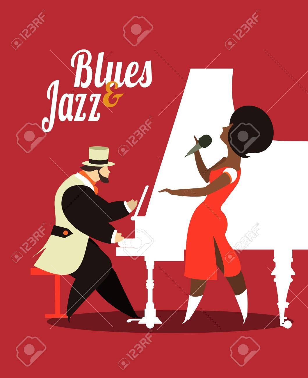 Abstract jazz band jazz music party invitation design vector abstract jazz band jazz music party invitation design vector illustration stock vector 44972840 stopboris Gallery
