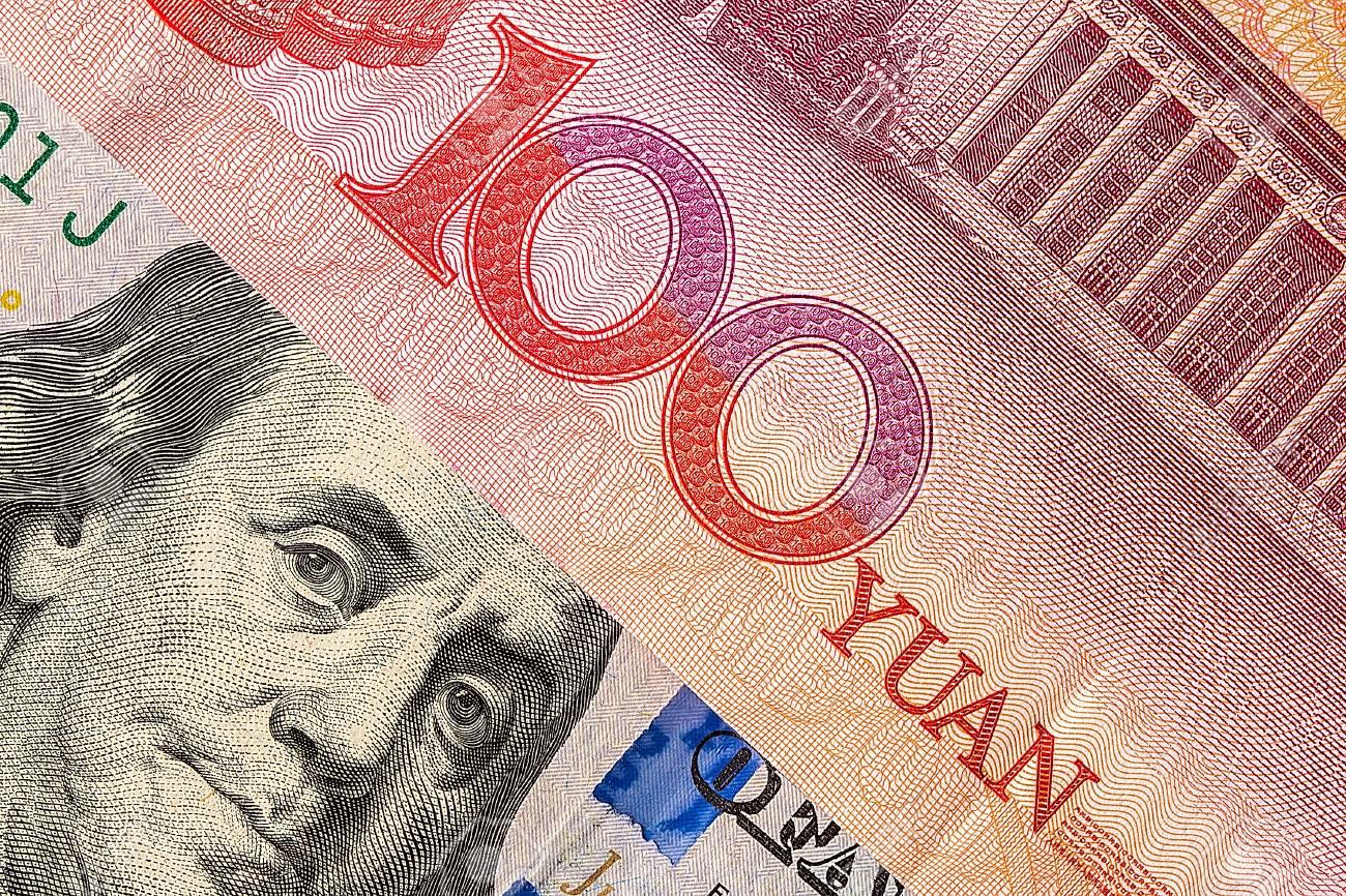 Us Dollar Bill And China Yuan Banknote Macro Stock Photo Picture And Royalty Free Image Image 78642338