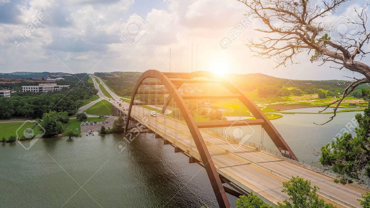 Pennybacker Bridge, Austin, Texas, USA - 58052343