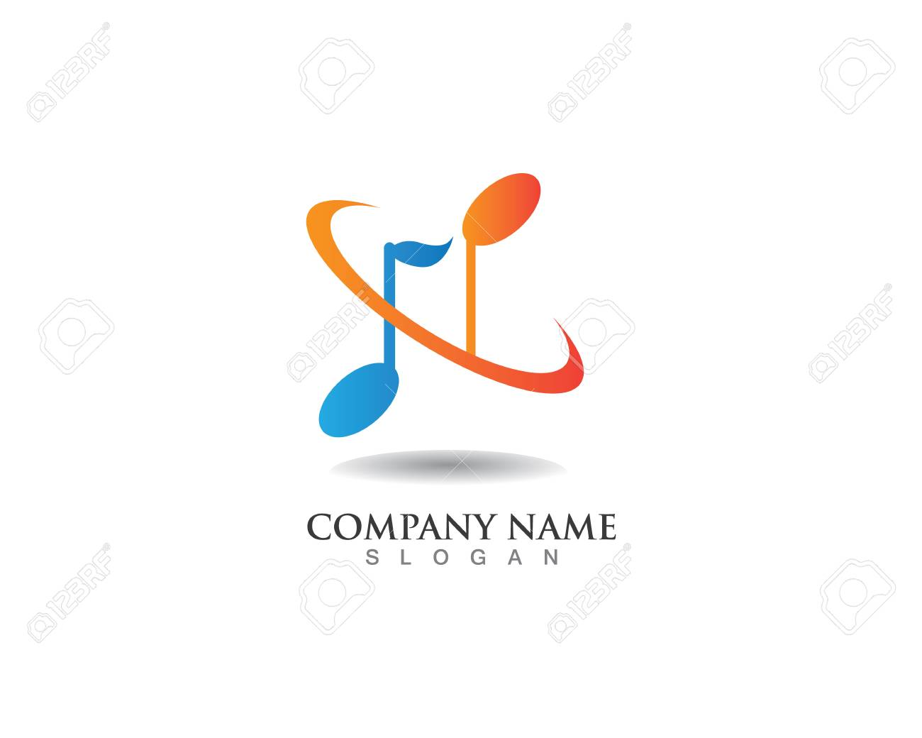 Music symbols logo royalty free cliparts vectors and stock music symbols logo stock vector 76647307 biocorpaavc Image collections