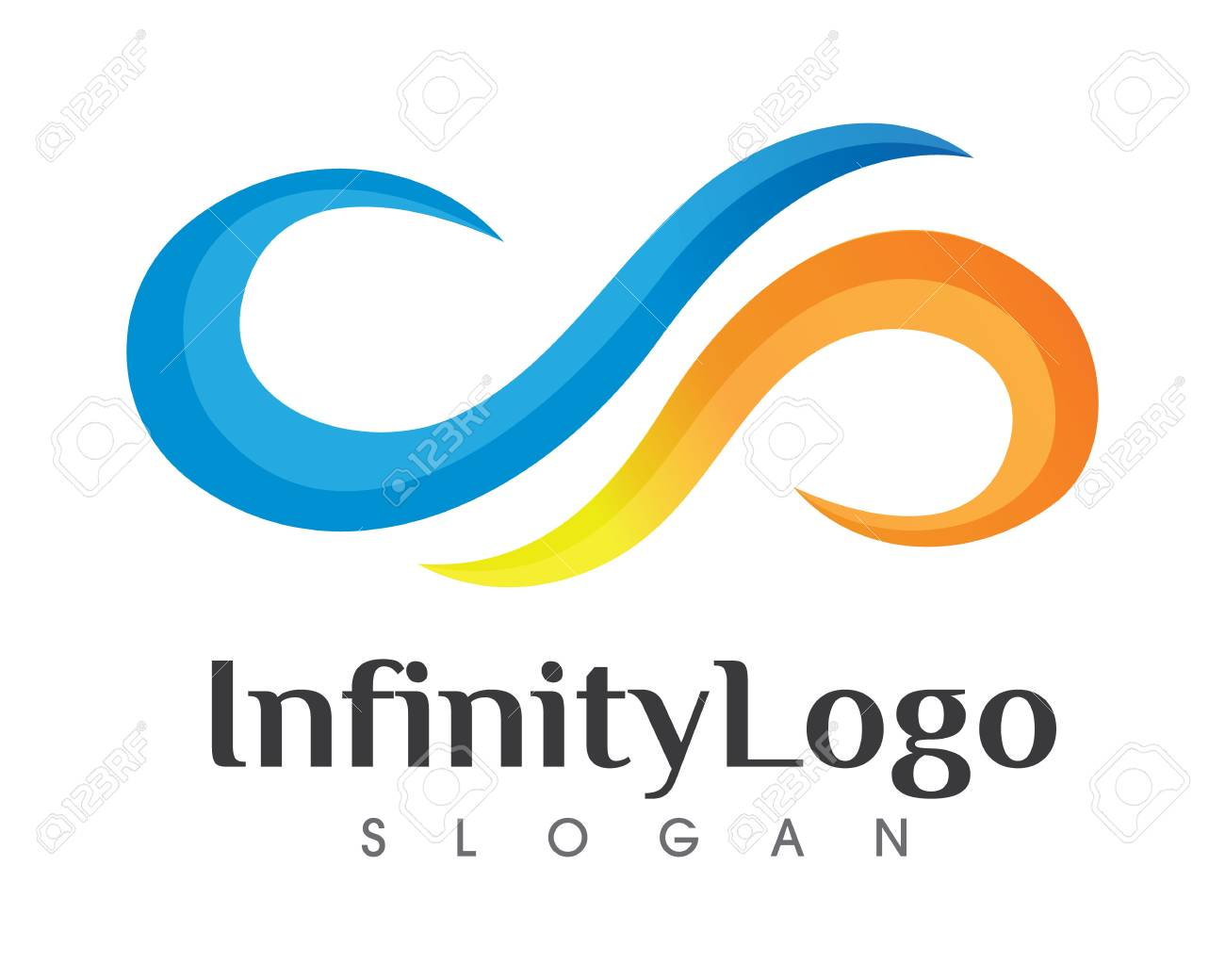 Good Infinity Symbol Template Photos Abstract Vector Limitless