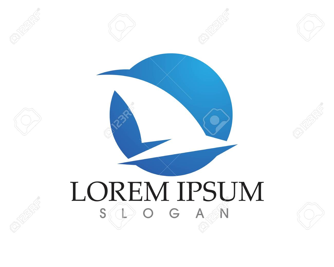 Bird Flying Wing Logo Symbol For A Professional Designer