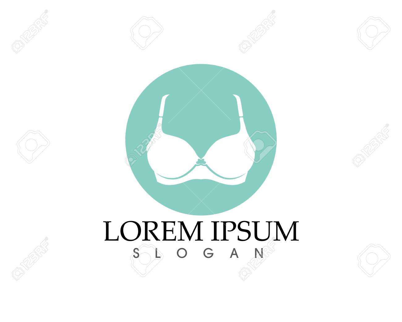 d544830b54904 Set of different push up bras isolated over white background Stock Vector -  97616440