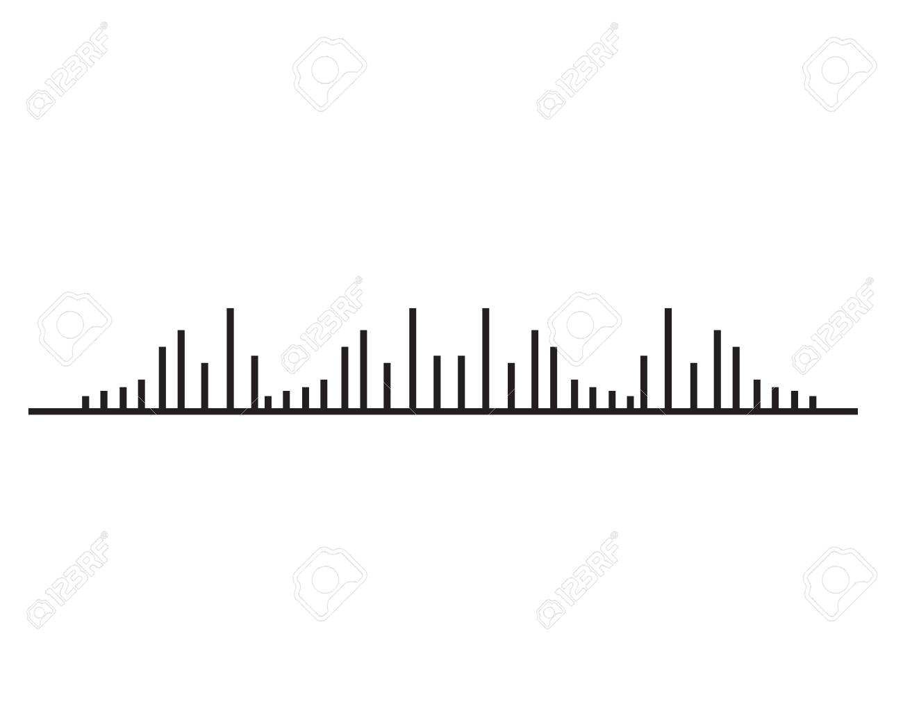 Sound Wave Ilustration Logo Vector Icon Template Royalty Free ...