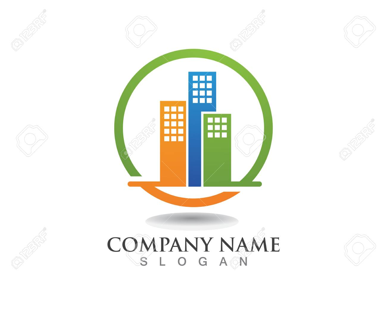 Apartment Property And Construction Logo Design For Business