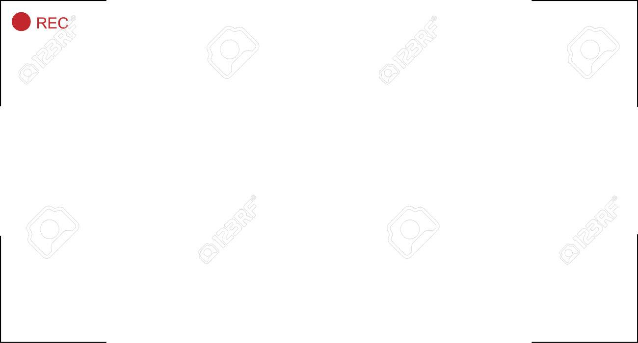 Video Recording Frame Royalty Free Cliparts, Vectors, And Stock ...
