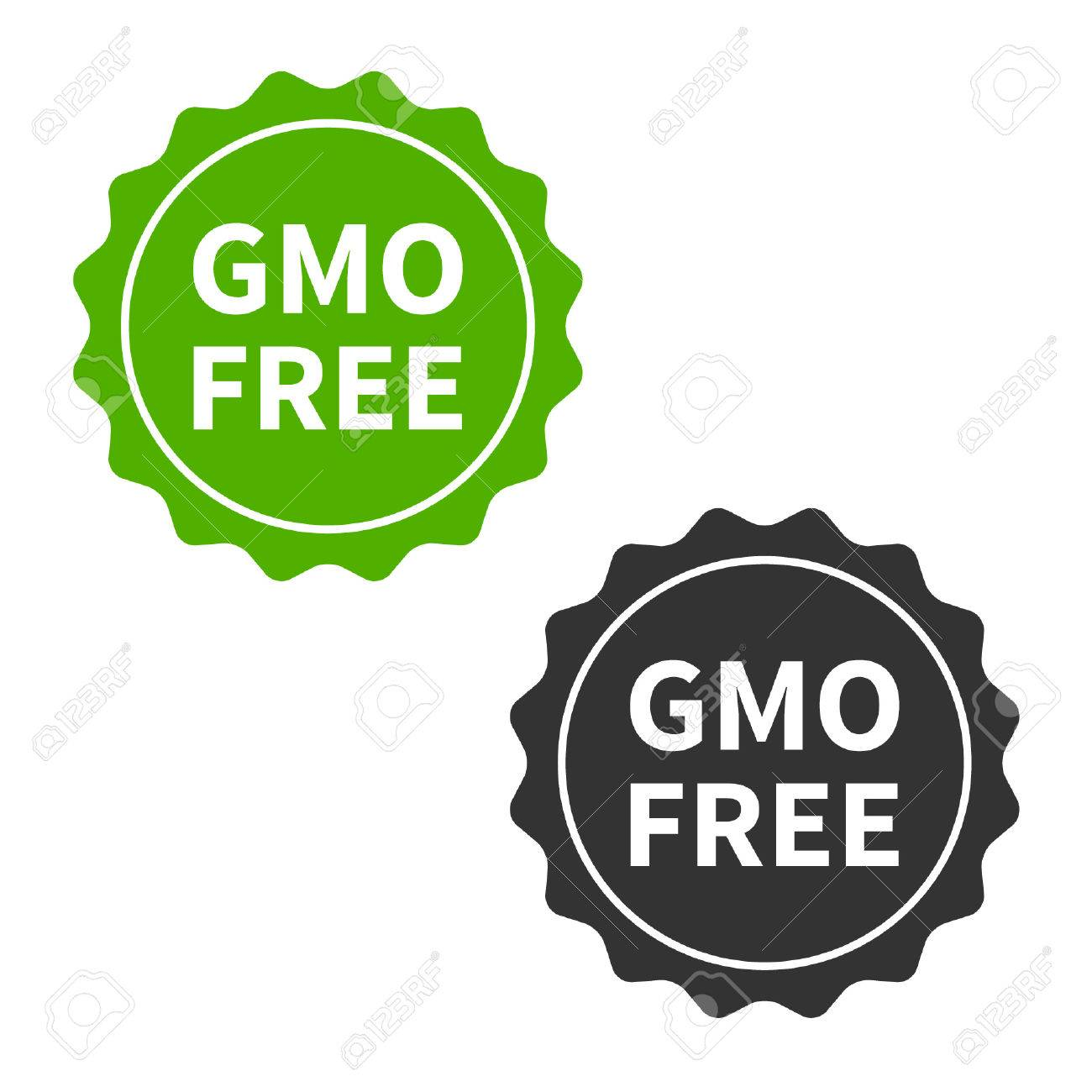 Non gmo or gmo free food packaging seal or sticker flat icon royalty non gmo or gmo free food packaging seal or sticker flat icon stock vector 42273451 buycottarizona Images