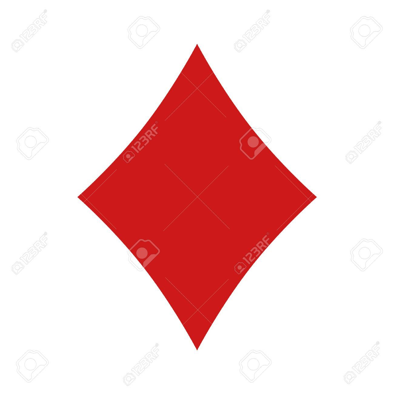 playing diamond cards clipart card shape images