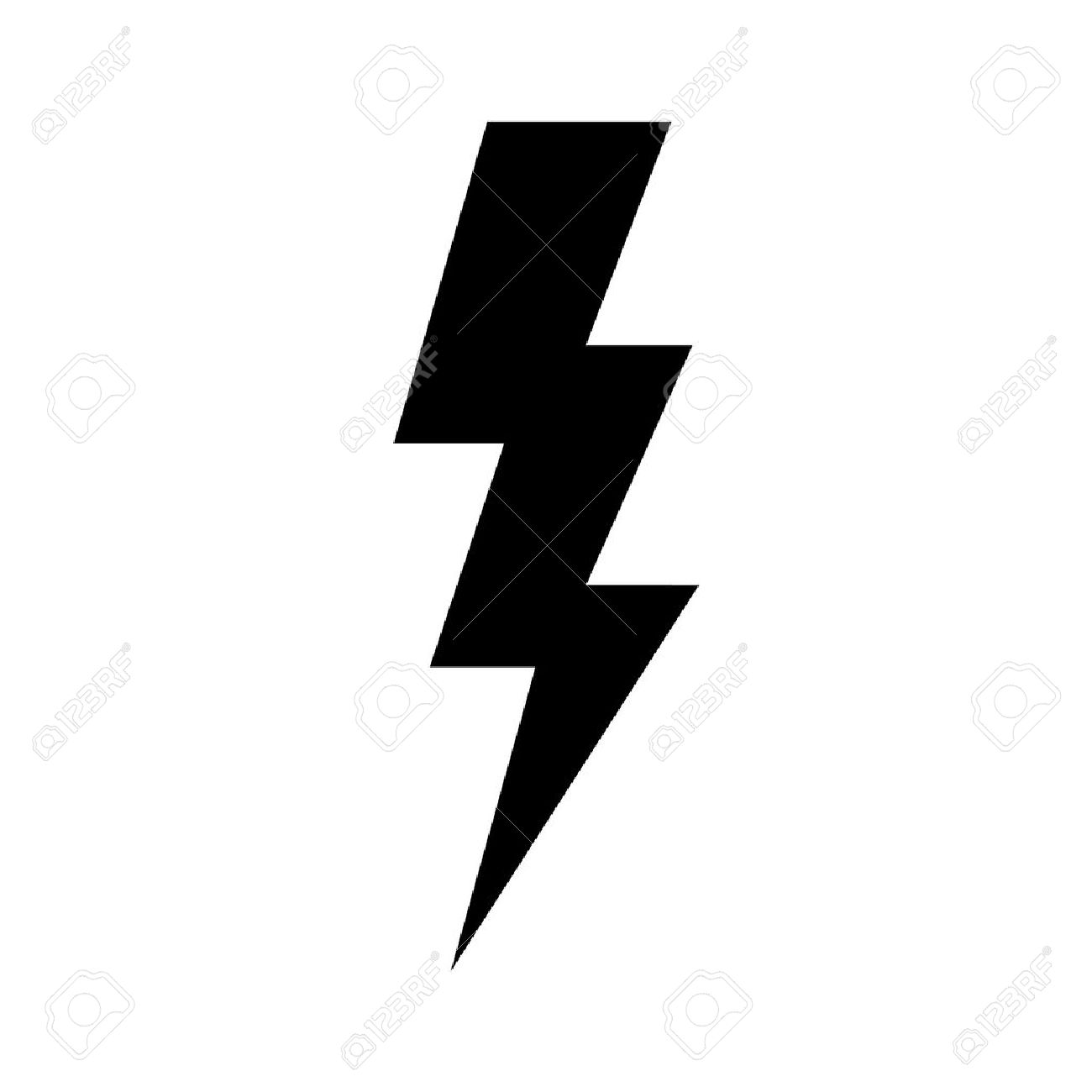 lightning bolt expertise flat icon for apps and websites royalty rh 123rf com lightning vector png lightning vector eps