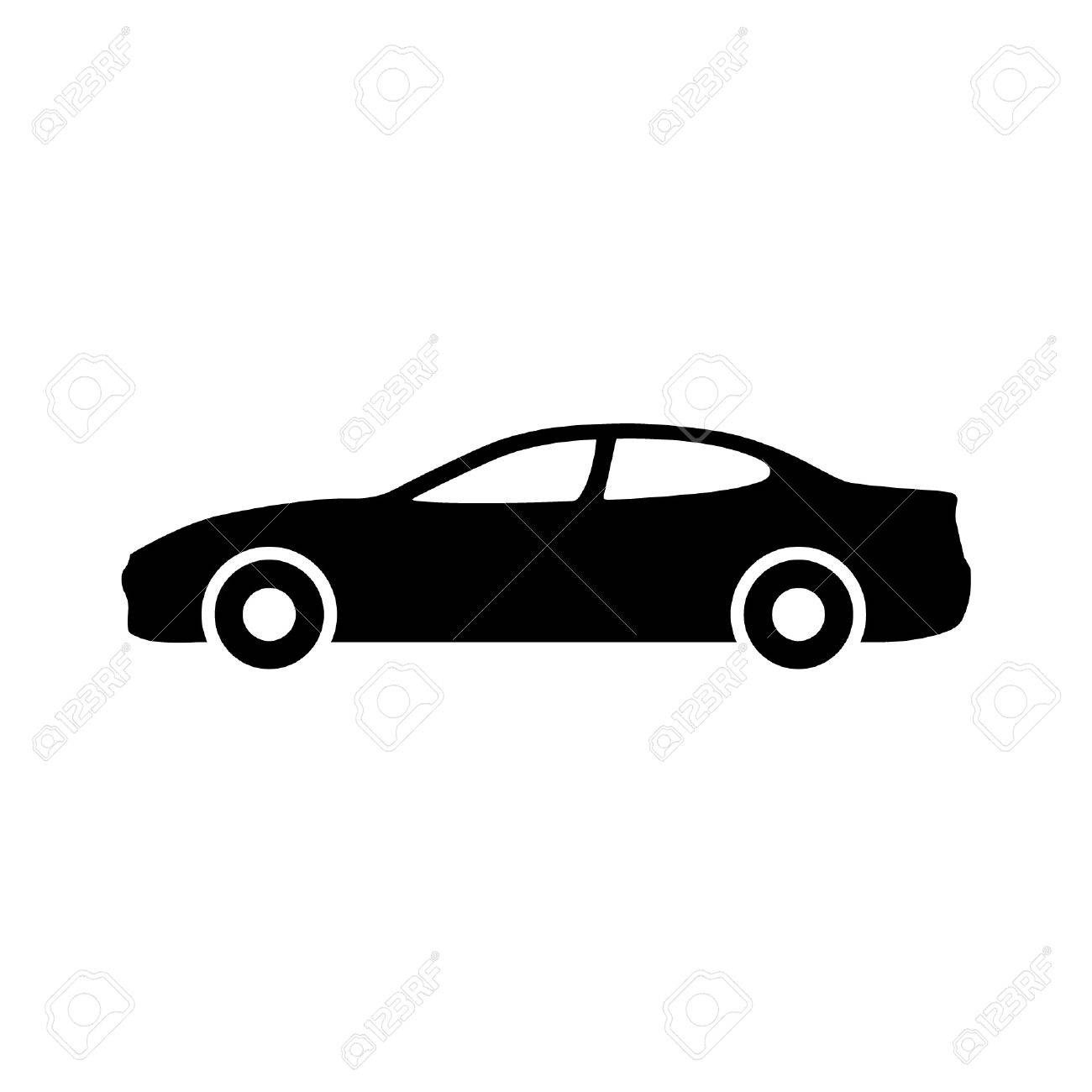 Luxury Car Automobile Side View Flat Icon For Apps And Websites ...