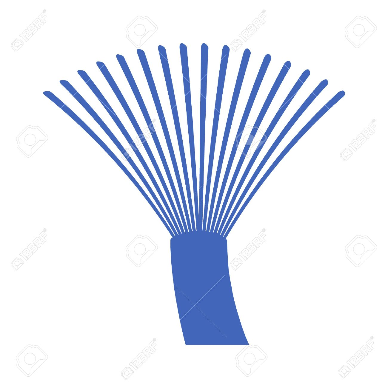 Fiber Optics Communication Cable Wire Icon Royalty Free Cliparts ...