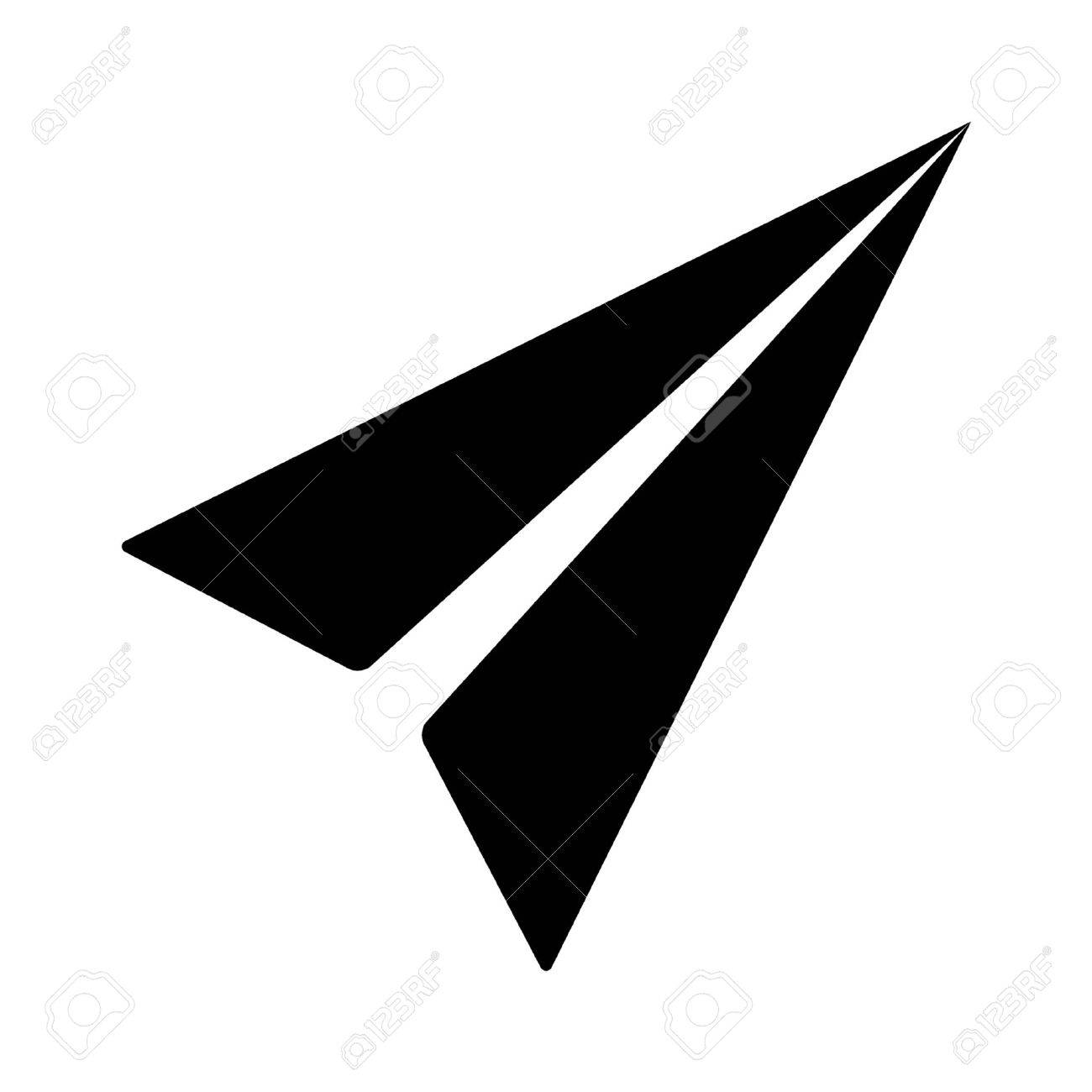 mail paper airplane flat icon for apps and websites royalty free rh 123rf com paper flight vector paper flight vector