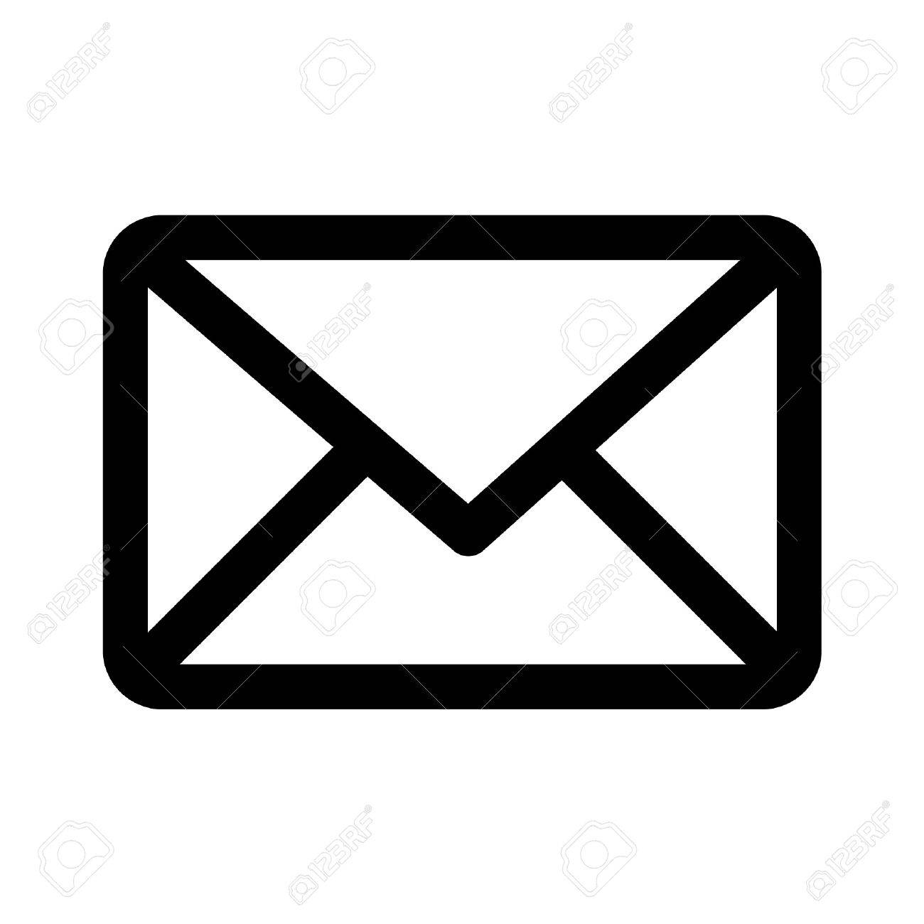 email message line art icon for apps and websites royalty free rh 123rf com email icons vector free download email vector icon