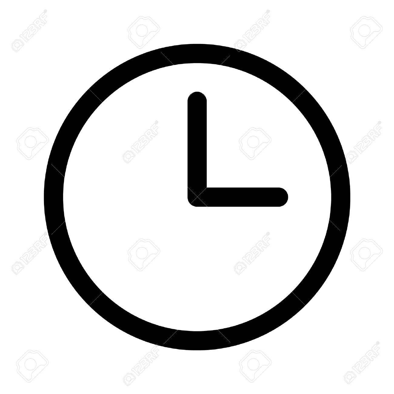 Horloge Et Ligne De Montres Icône De L'art Pour Les Applications Et Sites  Web Clip Art Libres De Droits , Vecteurs Et Illustration. Image 42620746.