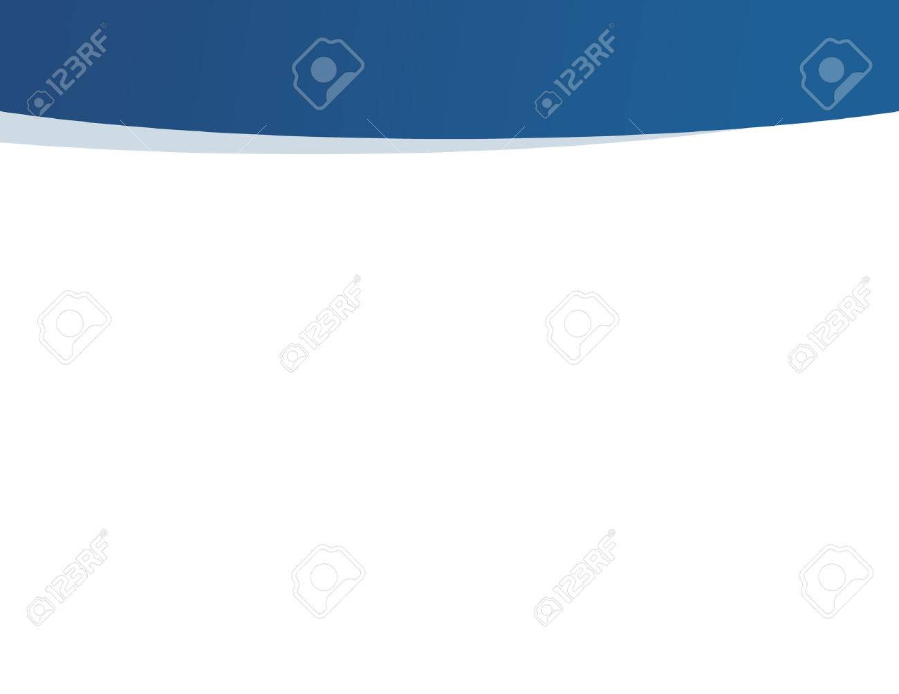 Blue and white professional business presentation background - 43894943