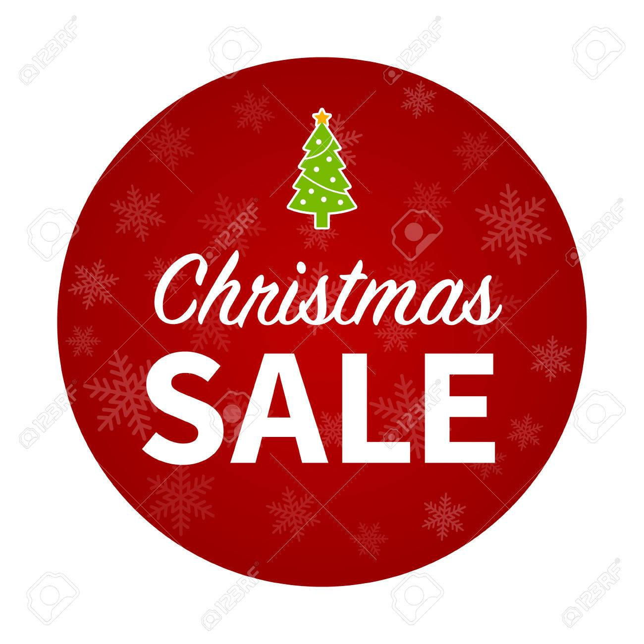 ee6c1601843b Merry Christmas sale promotion with Christmas tree Stock Vector - 43928836