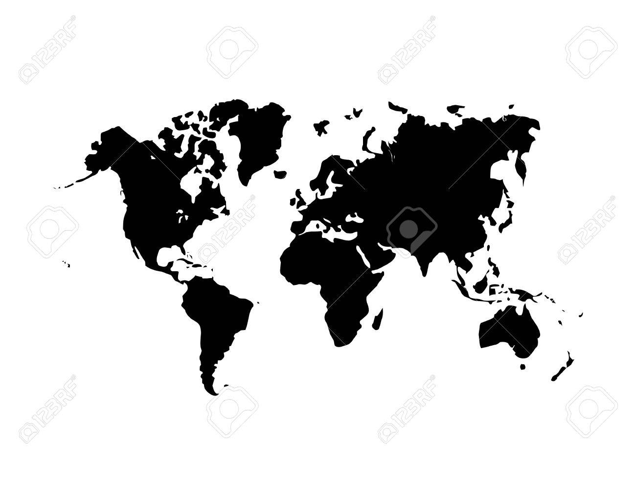 International world map flat vector icon for apps and websites international world map flat vector icon for apps and websites stock vector 44775075 gumiabroncs Gallery