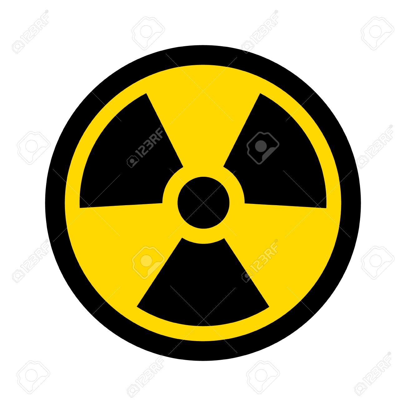 Yellow radioactive radiation symbol flat icon for websites and yellow radioactive radiation symbol flat icon for websites and print stock vector 50177610 biocorpaavc Image collections
