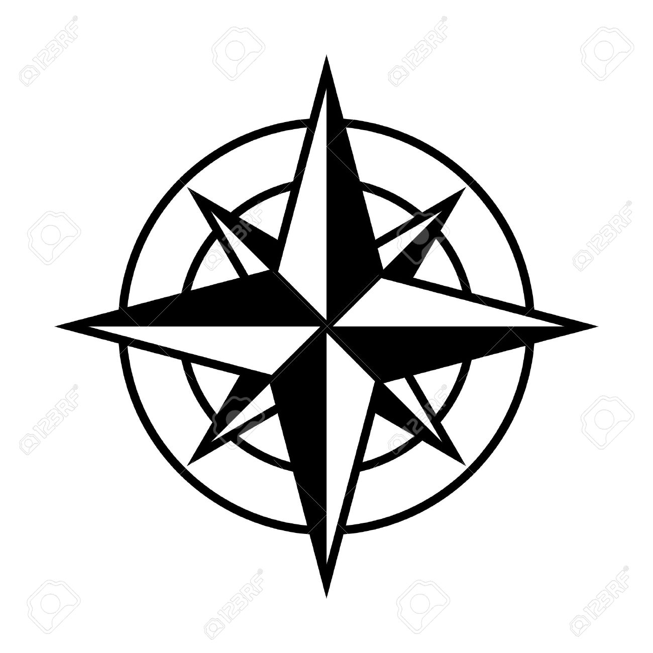 compass rose or windrose rose of the winds flat icon for apps rh 123rf com old compass rose vector compass rose vector art free