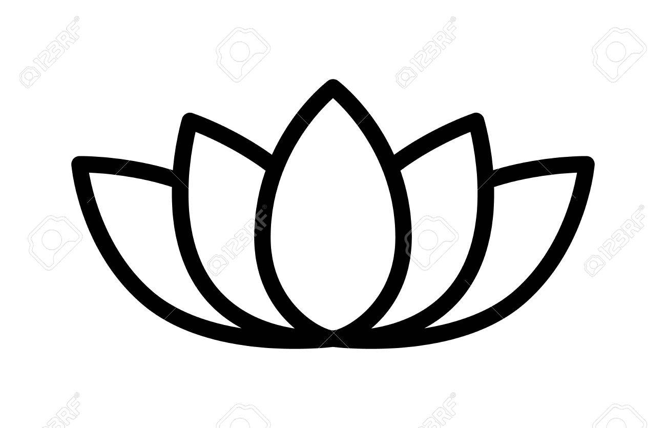 Lotus flower blossom line art icon for apps and websites royalty lotus flower blossom line art icon for apps and websites stock vector 57038646 mightylinksfo Gallery