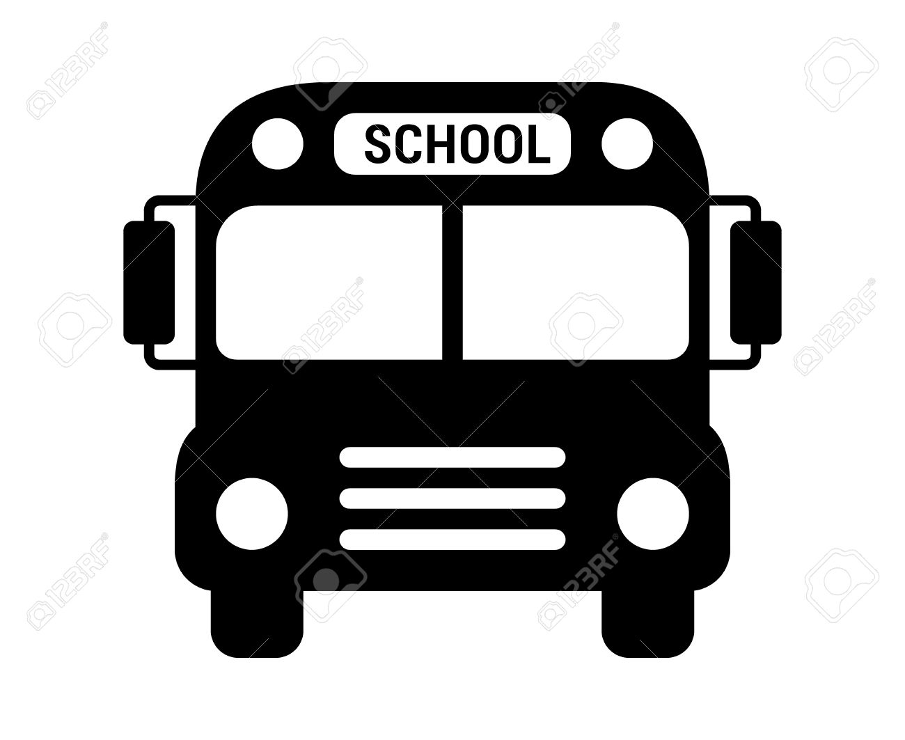 school bus or schoolbus transportation vehicle with label flat rh 123rf com school bus vector illustration school bus vector png