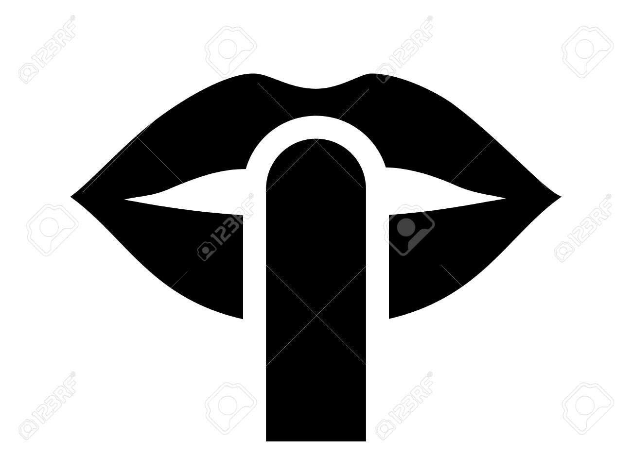 Be quiet be silent or silence with finger over lips flat icon be quiet be silent or silence with finger over lips flat icon for apps and buycottarizona