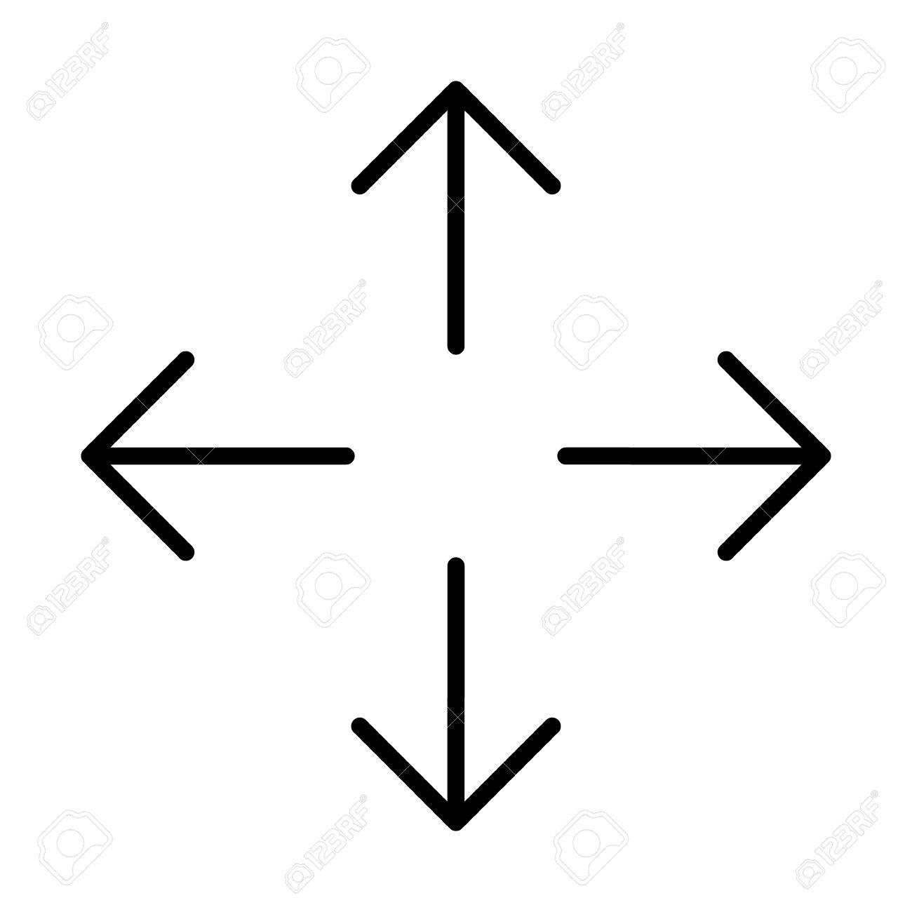 Direction Arrows North