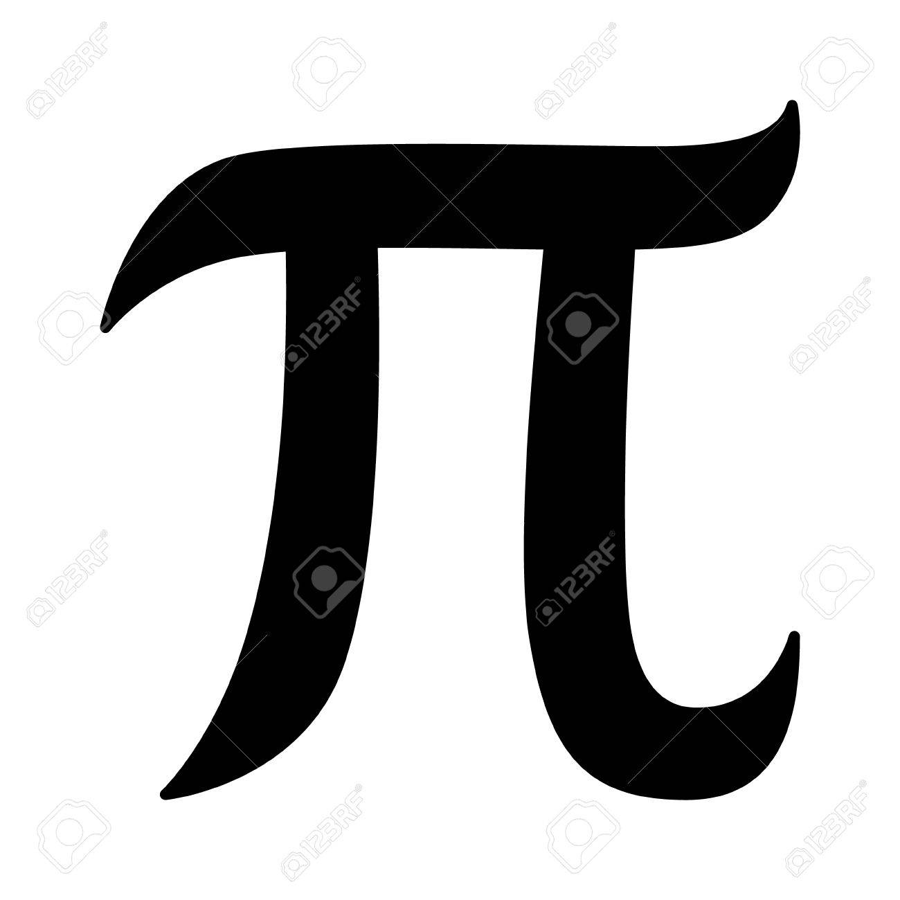 Pi 314 Mathematical Constant Sign Or Symbol Flat Icon For Math