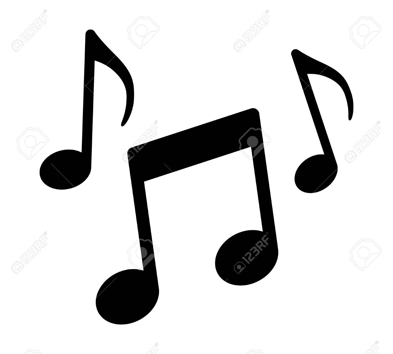 Music Notes, Song, Melody Or Tune Flat Vector Icon For Musical.. Royalty Free Cliparts, Vectors, And Stock Illustration. Image 84438442.