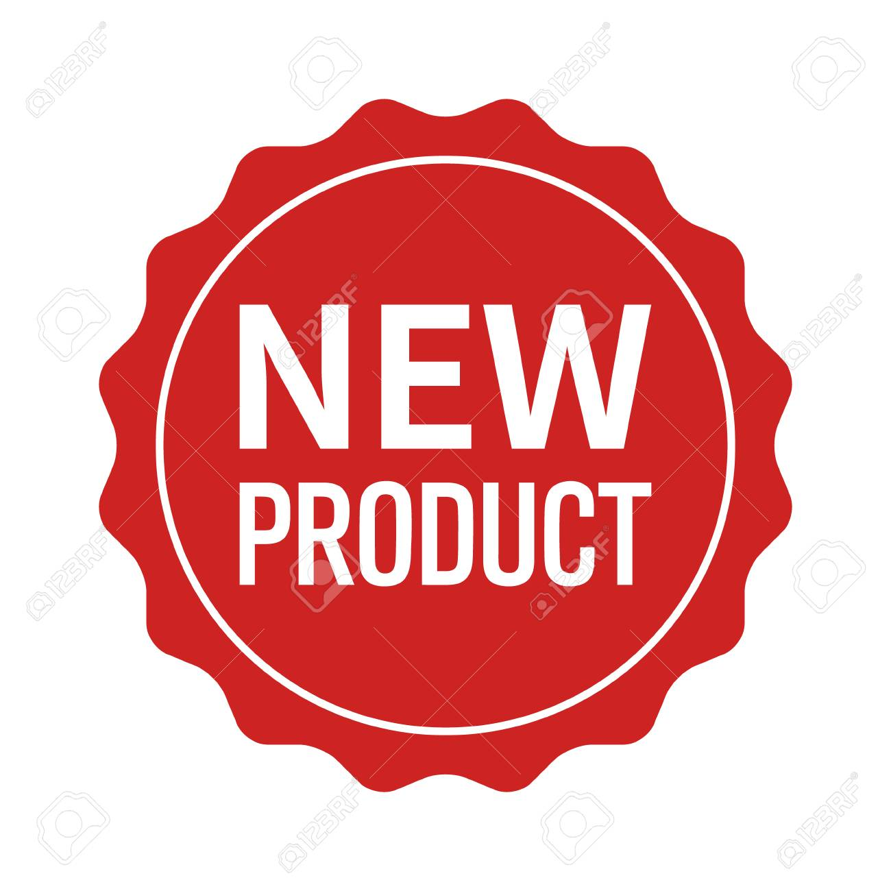 New product label, seal, sticker or burst flat vector icon for websites and packaging - 84587578