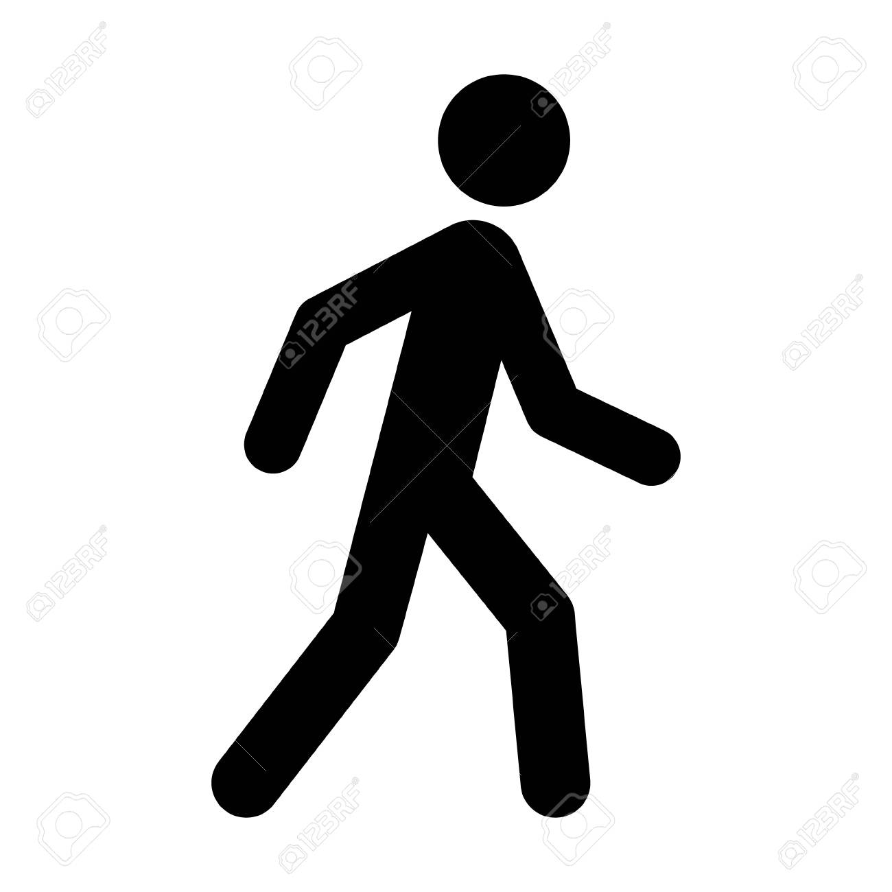 a person walking or walk sign flat vector icon for apps and websites royalty free cliparts vectors and stock illustration image 113393191 a person walking or walk sign flat vector icon for apps and websites