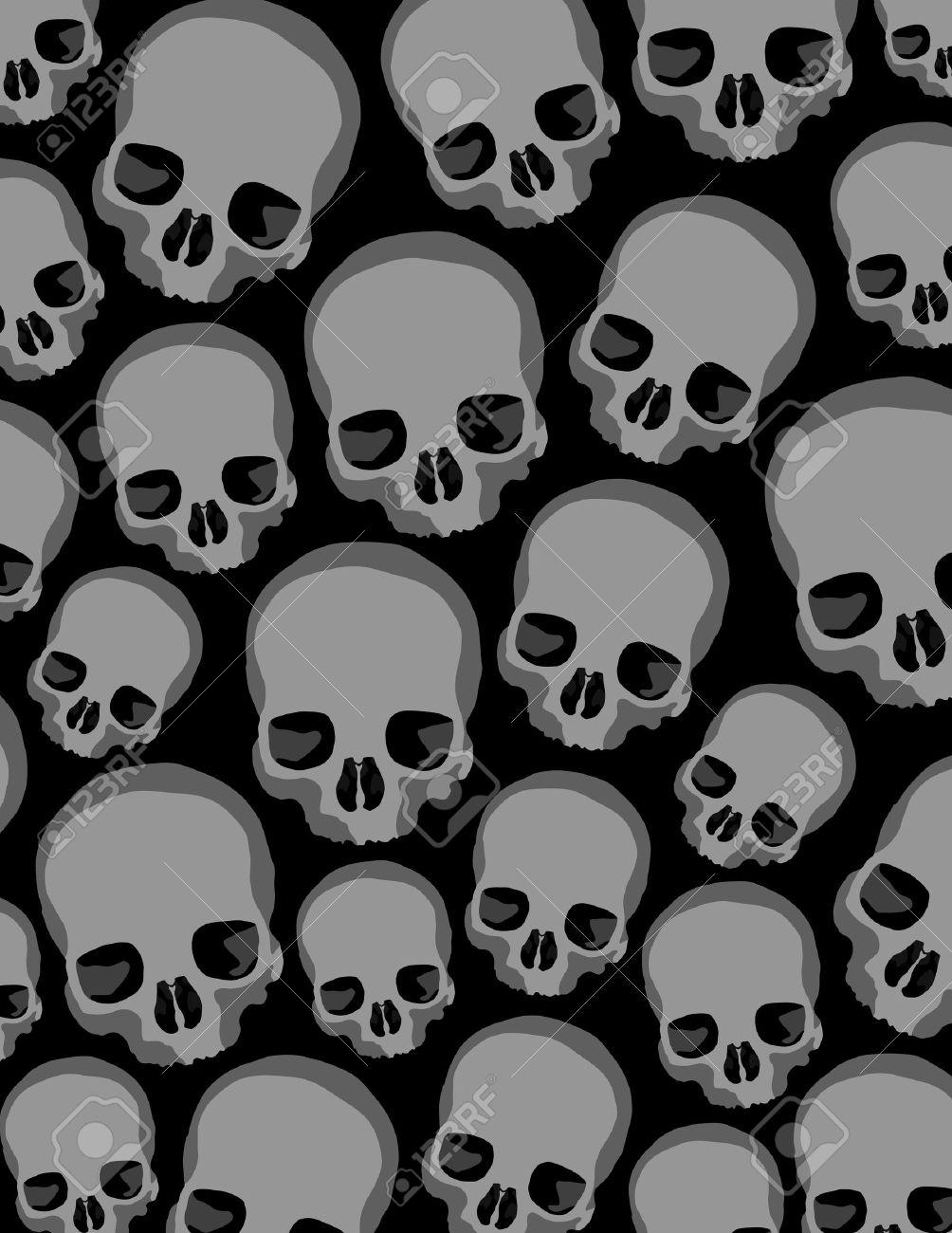 skulls Stock Vector - 7187724